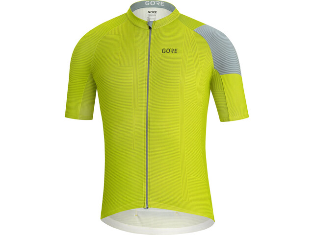 GORE WEAR C3 Line Jersey Men citrus green/nordic blue